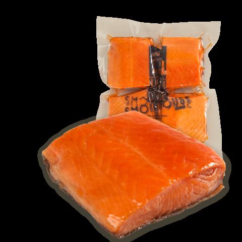Hot Smoked Salmon Portions